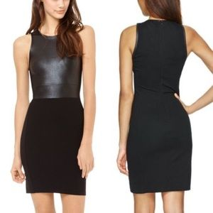 ARITZIA Wilfred Faux Leather Bodycon Tank Dress XS